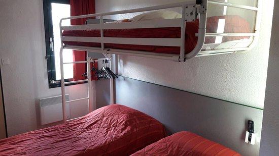 Jaux, France : chambre triple