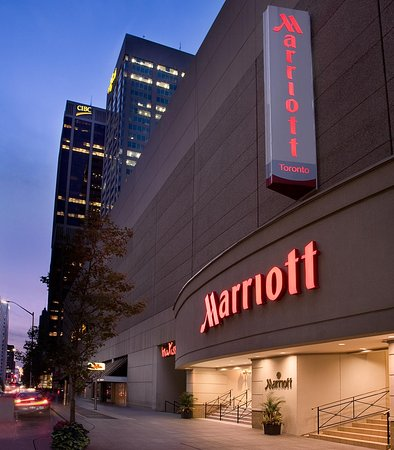 Toronto Marriott Bloor Yorkville Hotel: Entrance