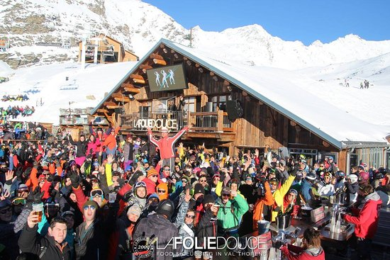 The Party Makers Picture Of La Folie Douce La Fruitiere Val