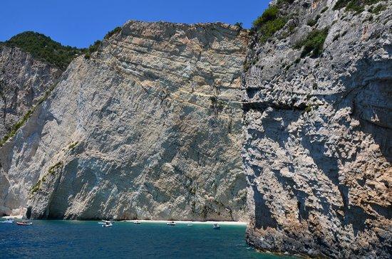 Keri Caves - klif