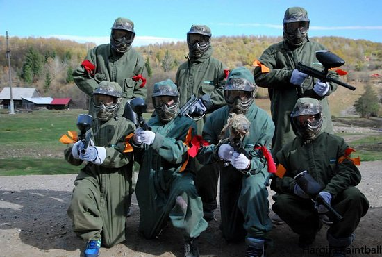 Miercurea-Ciuc, Romania: My paintball team