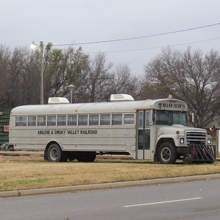 Abilene, KS: Snow Plow Bus