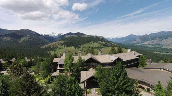 Winthrop, WA: Sun Mountain Lodge mountaintop