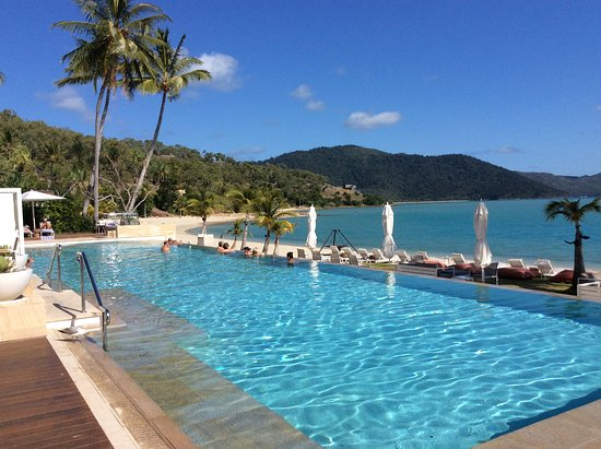 Hayman Island, Australia: A great pool to relax in