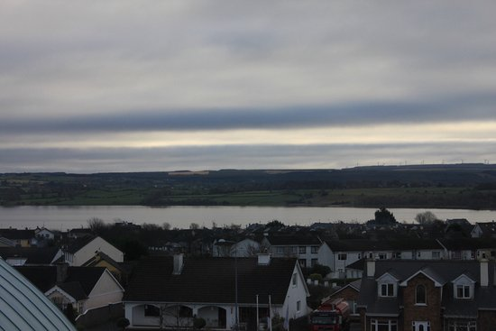 """Loughrea, Ireland: Lake """"view"""" from room?????"""