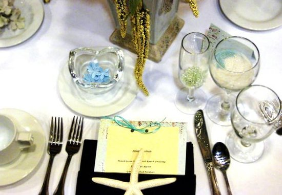 Culver City, Californie : Special Events – Table Set-Up