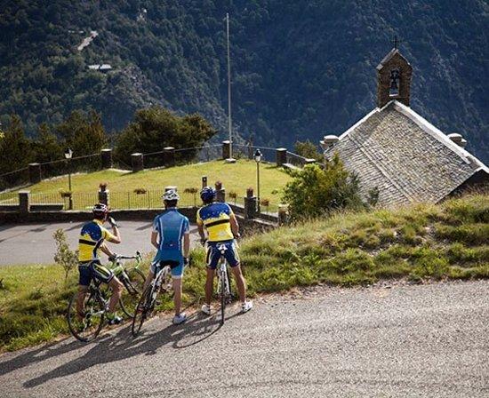 Sant Julia de Loria, Andorra: Ruta cicloturística 16: Aixovall - Coll de la Gallina