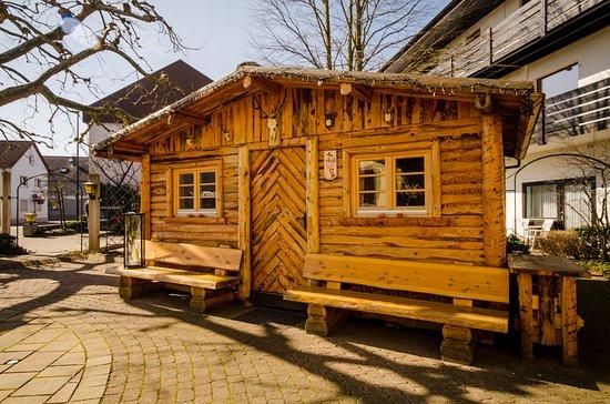 Hugelsheim, Alemania: Unser Hirsch-Hüttli