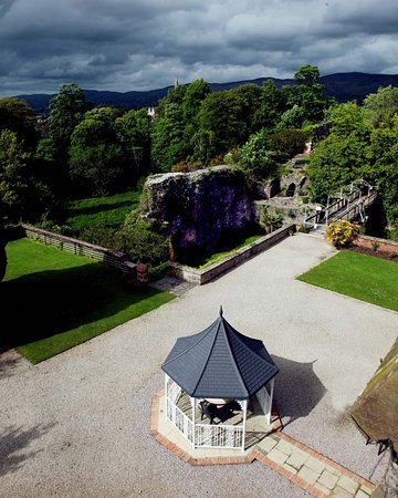 Ruthin Castle Hotel: View