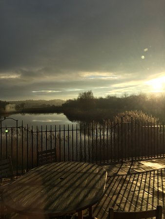 Barton-upon-Humber, UK: wonderful view from the restaurant