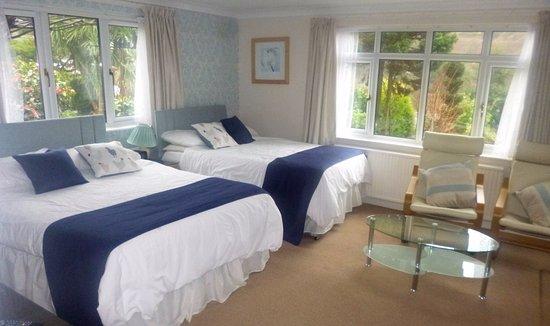 Berrynarbor, UK: Room 6 Garden Room