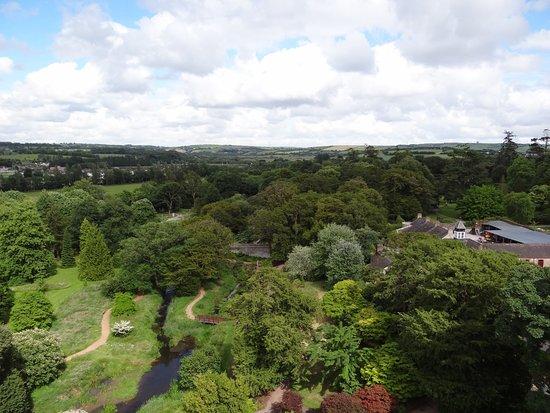 County Cork, ไอร์แลนด์: Depuis le sommet du château