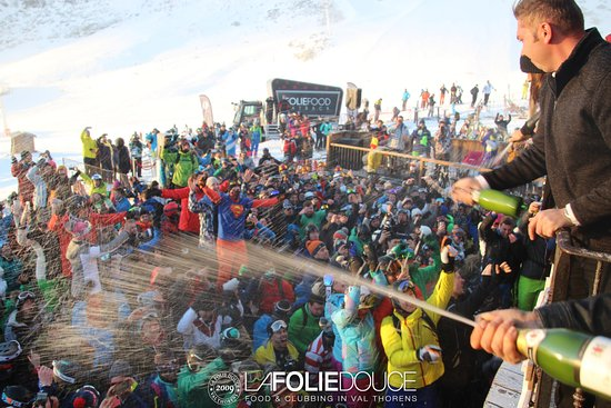 Champagne Picture Of La Folie Douce La Fruitiere Val Thorens