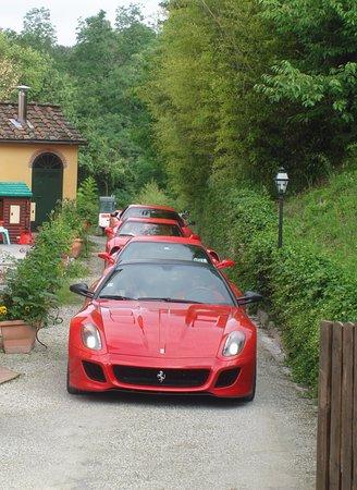 Capannori, Italia: Our ferrari enthusiast Guests