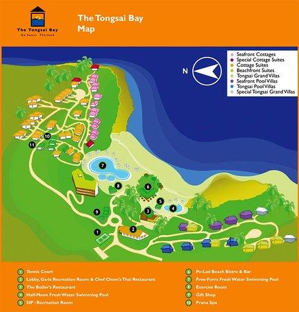 The Tongsai Bay: Tongsai Map