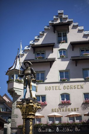 City-Hotel Ochsen Zug: Map