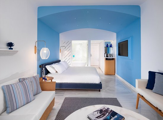Mykonos Grand Hotel & Resort: Premium Sea View Room