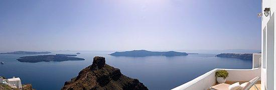 Tholos Resort: Panoramic view