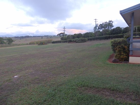 Malanda, Australia: View from front of unit.