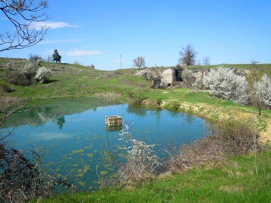 Lovech, Bulgaria: lake and Roman ruins