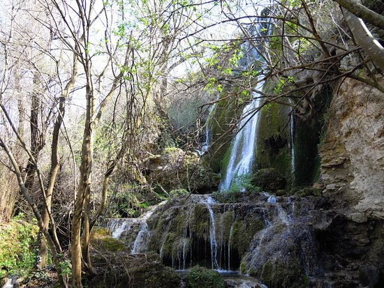 Lovech, Bulgaria: Green rock falls