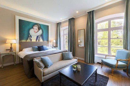 Vaals, Ολλανδία: Deluxe Castle Room