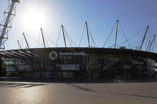 Sydney Olympic Park, Australia: Tampak depan