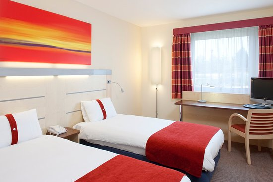 Minster, UK: Twin Bed Guest Room