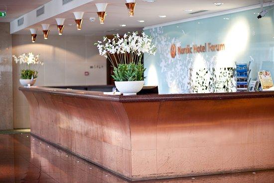 Nordic Hotel Forum: Reception