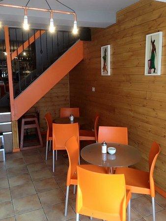 Oakham, UK: Baobab Cafe