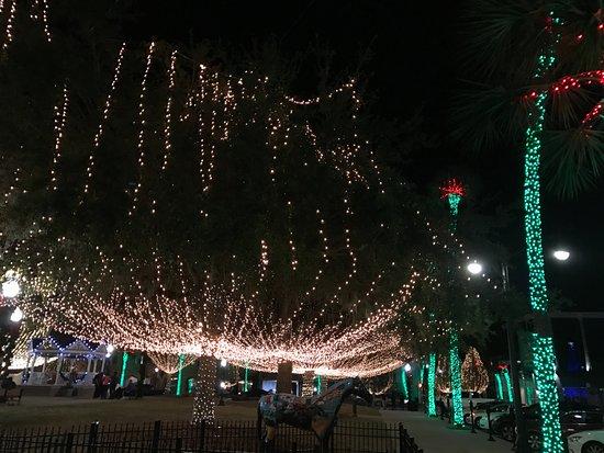 Ocala Downtown Square : Ocala Square Lights
