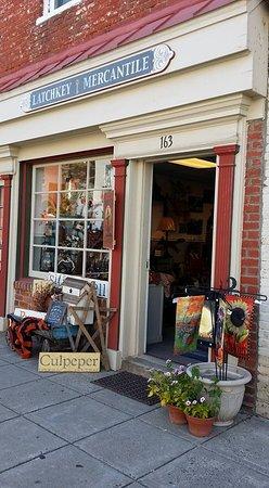 Culpeper, VA: Store front