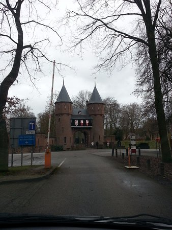 Haarzuilens, The Netherlands: The main entrance to the castle.