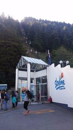 Квинстаун, Новая Зеландия: 곤돌라 입구