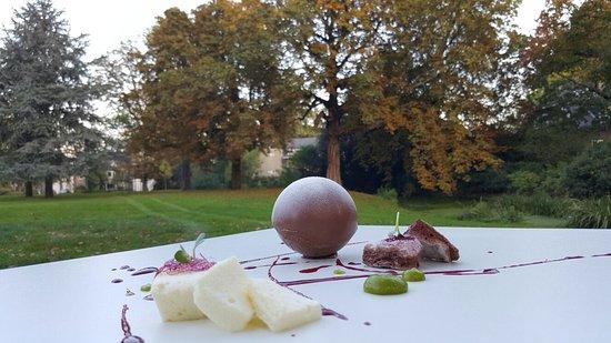 Alphen aan den Rijn, The Netherlands: chocolat in the park