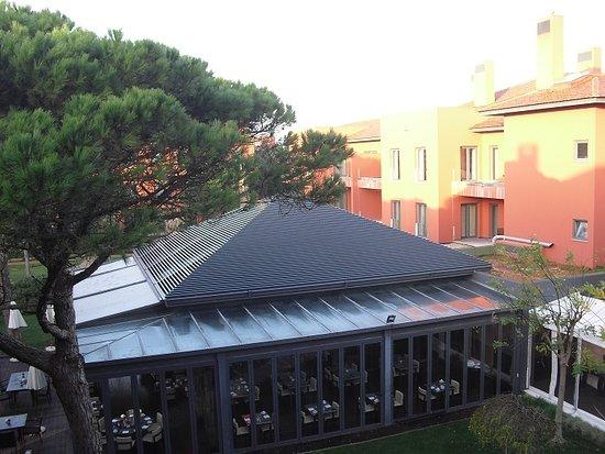 Sheraton Cascais Resort: restaurant view from terrace