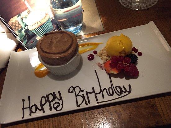 Shefford, UK: A real birthday treat