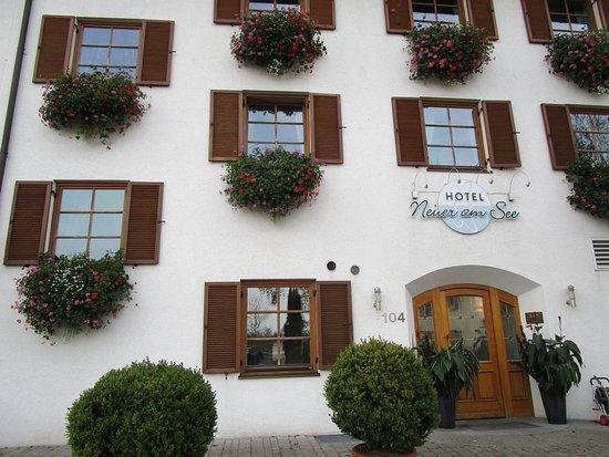 Hotel Neuer am See: Eingang