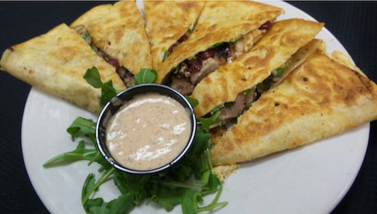 Bowling Green, OH: Duck Quesadilla