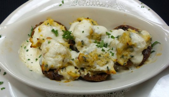 Bowling Green, OH: Crab Stuffed Mushrooms