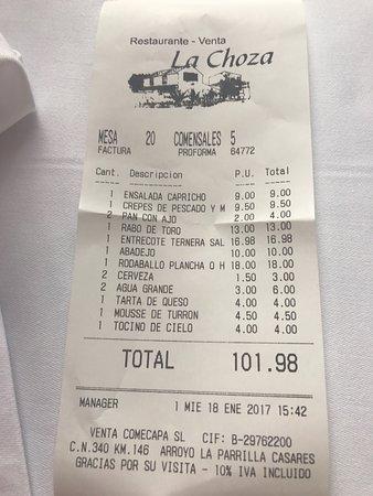 Restaurante La Choza : photo8.jpg
