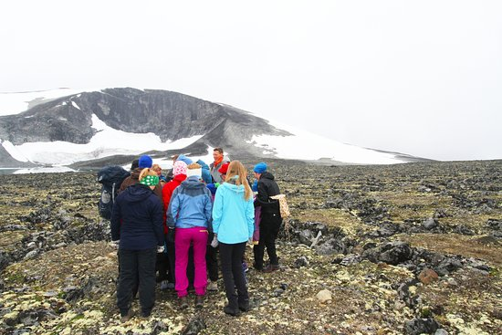 Lom, Noruega: Explore the permafrost effect at the Juvflye plateou.
