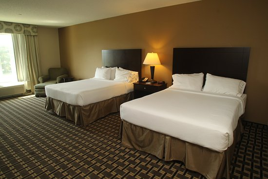 Pembroke, Carolina del Norte: Queen Bed Guest Room