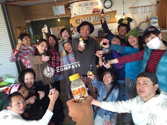 Hitoyoshi, Japón: 球磨川ラフティング SUP monsterSUP japan tour photo