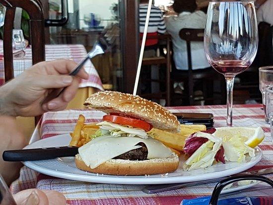 Morlupo, Włochy: Hamburger di carne danese