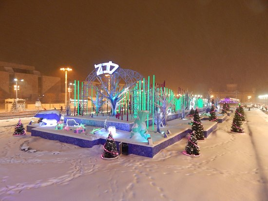 the exhibition of achievements of national economy vdnkh one of the best places - Best Places To Visit At Christmas