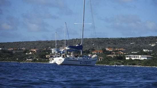 Kralendijk, Bonaire: My view of the vessel, for me, this is a very big deal!