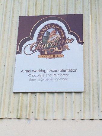 Rincon de La Vieja, Kostaryka: La Anita signage