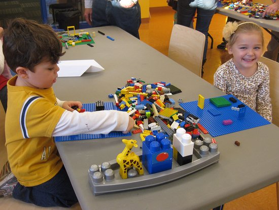 Fond du Lac, WI: Playing at Lego Night