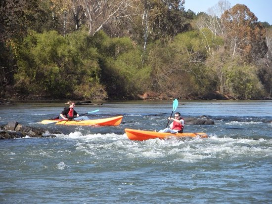 West Columbia, Carolina del Sur: Kayaking on the Broad River